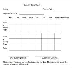 free printable weekly time sheets biweekly timesheet template pdf listmachinepro com