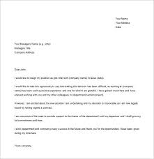 31+ Simple Resignation Letter Samples | Free & Premium Templates