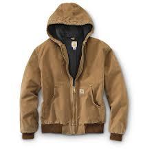 Carhartt Men's Quilted Flannel-Lined Active Jacket - 607658 ... & Carhartt Men's Quilted Flannel-Lined Active Jacket, Carhartt Brown Adamdwight.com