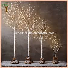 1. decorative led lighting artificial birch tree