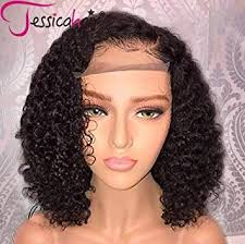 Jessica Hair 13x6 Lace Front Wigs Human Hair Short ... - Amazon.com