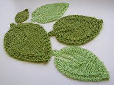 Leaf Knitting Pattern Stunning 48 Best Knit Flowers Images On Pinterest In 48 Crochet Pattern