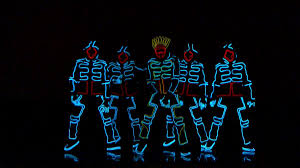 Dancers With Lights On America S Got Talent