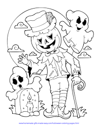 I know kids who really like you to put a mark for the right color, too. 75 Halloween Coloring Pages Free Printables