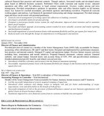 resume accounting manager