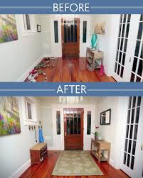 Entryway Before and After Photo
