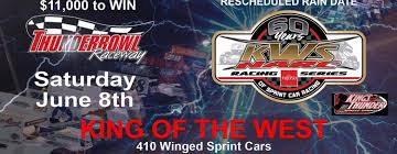 King Of The West Narc Sprint Cars Tackle The Peter Murphy