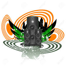 dj speakers vector. abstract music vector stock - 9310331 dj speakers a