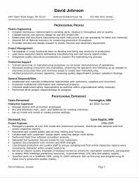 Resume For Manufacturing Jobs Best Sample Functional Resume