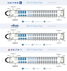 Embraer 175 Seating Chart Unfolded Embraer Emb 145 Seating Chart 2019