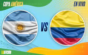 Argentina vs Colombia - semifinal Copa ...