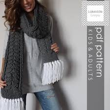 Cable Knit Scarf Pattern Cool Crochet Cable Scarf Patterns 48 Projects You'll Love