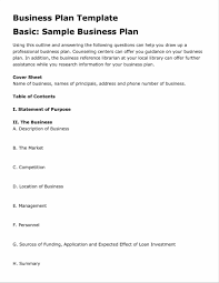 Restaurant Business Plan Sample Business Plan Template Restaurant Templates In Word Excel