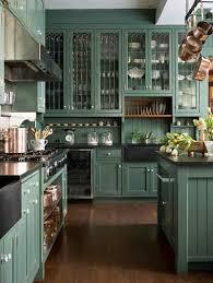 Dark Green Kitchen Cabinets Forest Green Kitchen Cabinets Quicuacom