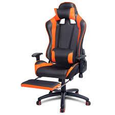 furniture gaming desk chair inspirational executive gaming office chair racing puter pu mesh seat racer