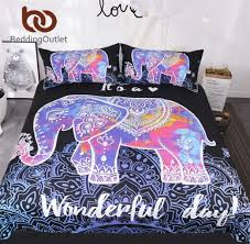 paisley duvet cover baffling aliexpress bedding colorful elephant bedding set