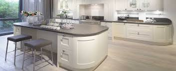 Country Curved Kitchen Units