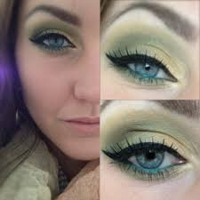 light and dark blended greens with a black wing