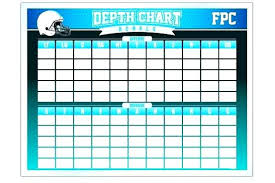 23 Youth Football Team Roster Template Depth Chart Excel