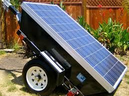 photovoltaic system profile picture of a mobile solar powered generator