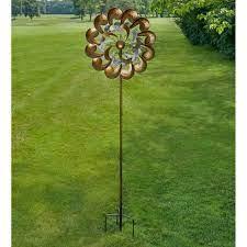 metal wind spinner garden outdoor yard