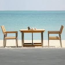 Stainless Steel Outdoor Dining Table Siro Teak And Stainless Steel Outdoor Expandable Table With