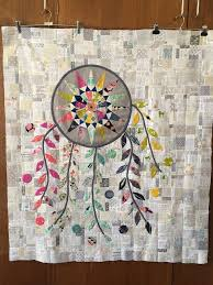 Dream Catcher Quilt Pattern Custom PatchworknPlay Short And Sweet Dreamcatcher Quilt Lovely