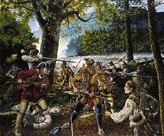 Heritage Paintings - Historical Paintings - The National Guard