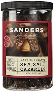sanders dark chocolate sea salt caramels 36 ounces 2 25 pounds