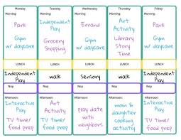 weekly schedule example heres our toddler weekly schedule free printable schedule