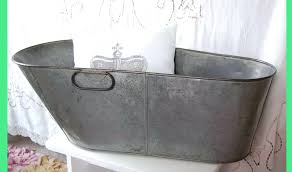 galvanized metal bathtub image of metal galvanized bathtub vintage galvanized metal bathtub