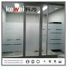 decorative frosted window sliding glass doors matte white tint for my door
