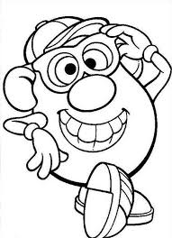 Small Picture Mr Potato Head Wearing Glasses Coloring Pages Mr Potato Head