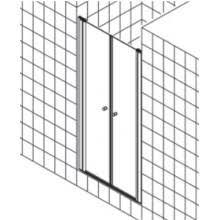 <b>Душевая дверь Kermi Atea</b> AT PTD 09018VAK 90x185 см — купить ...