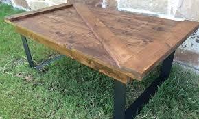 door table barn door coffee table old door coffee tables door dining table diy
