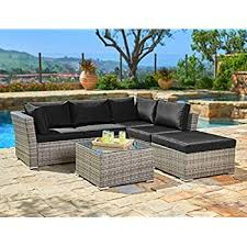 waterproof cushions for outdoor furniture. plain cushions suncrown outdoor furniture sectional sofa 4piece set allweather grey  checkered inside waterproof cushions for