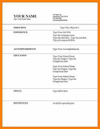 8 Cv Pattern For Job Acknowledge Form