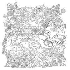 coloring book pages scenary waves of color