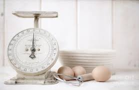 Small Picture Baking Time Vintage Kitchen Scale Photograph by Edward Fielding