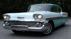 1958 Chevrolet Biscayne: Start Up, Test Drive & In Depth Review ...
