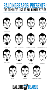 Beard Chart 27 Best Beard Styles For Men That Will Make You Look Great