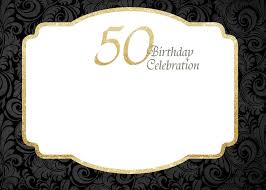 50th birthday invitations free printable free printable 50th birthday invitations template 50th