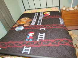 1066 best quilting images on Pinterest | Tutorials, Alabama baby ... & awesome video game quilt Adamdwight.com