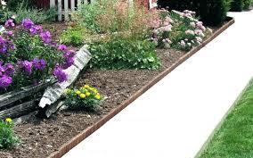 garden border edging ideas wooden borders edge en
