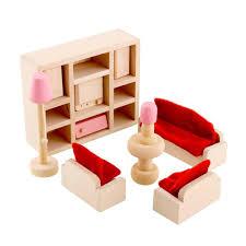 cheap wooden dollhouse furniture. My First Dollhouse Furniture Wooden Living Room Dolls House Miniature Sofa Table Cheap E