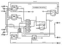 premier loom to sierra wiring diagram Caterham Wiring Diagram headlight tail and fog wiring caterham seven wiring diagram