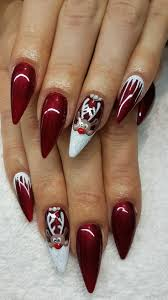 32 best Ongles images on Pinterest | Bride nails, Christmas nail ...