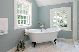 paint color bathroom. Bathroom, Inspiration For A Contemporary Bathroom Remodel In New York With Claw Foot Tub Paint Color