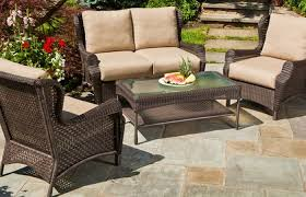 patio better homes and gardens wicker furniture lanai target home decks patios patio furniture home