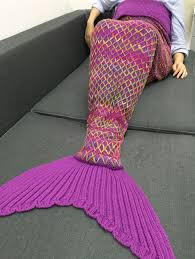Free Crochet Mermaid Blanket Pattern Interesting Design